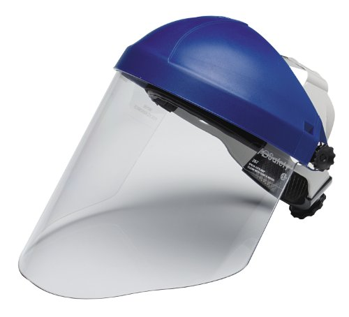 3M Ratchet Headgear H8A, 82783-00000, with 3M Clear Polycarbonate Faceshield WP96